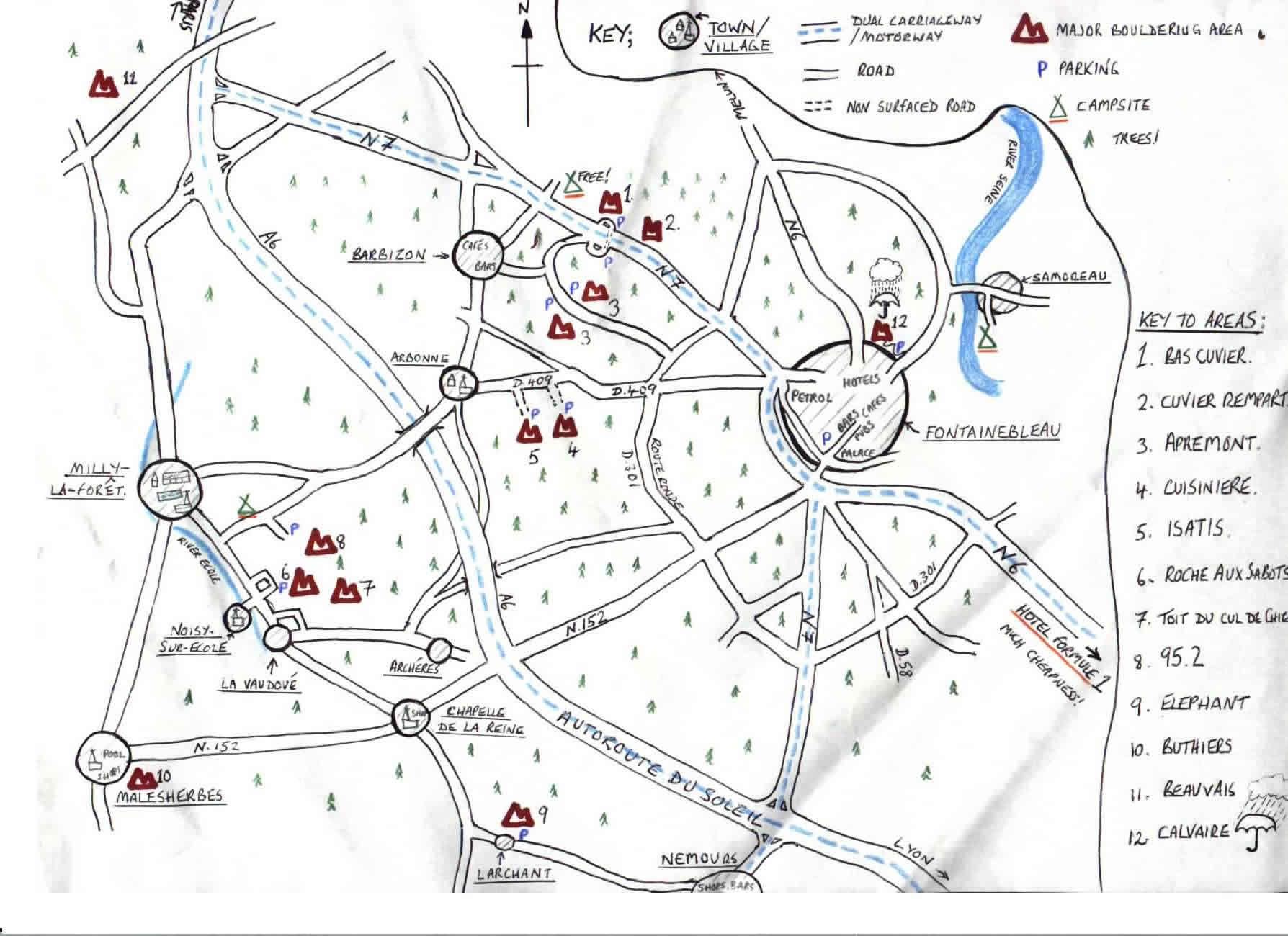 Filefont A Rough Guide Mapjpg Scottishclimbs